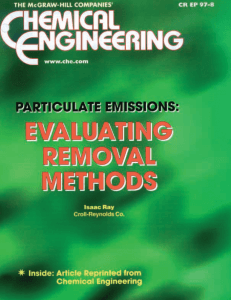 Chemical Engineering Article